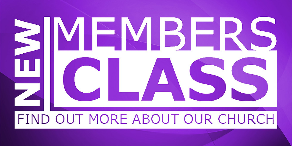 Inquirer's & New Member Class
