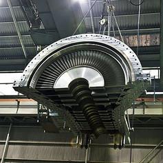 15MW Steam Turbine Upper Case Installation