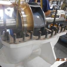 API610 BB1 split case repair