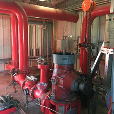 Fire Water Pumps Lift and re-bowl project