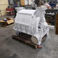 NASH Liquid Ring Compressor Overhaul Work at Shop