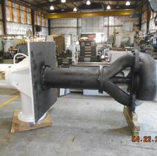 Worthington 16PL Double Suction Vertical Pump After Repair