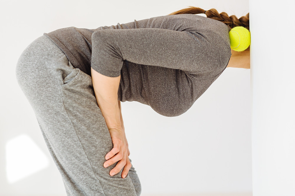 Tennis Ball for muscle aches