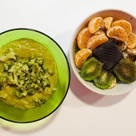 Comida saludable y antioxidante