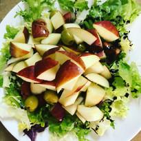 Ensalada fresca de manzana
