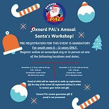 Square 2020 Santa's Workshop Pre-Reg inf