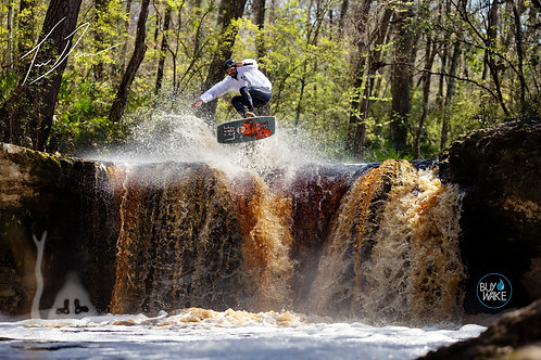 Travis Doran vs The Waterfall Archival C-Print