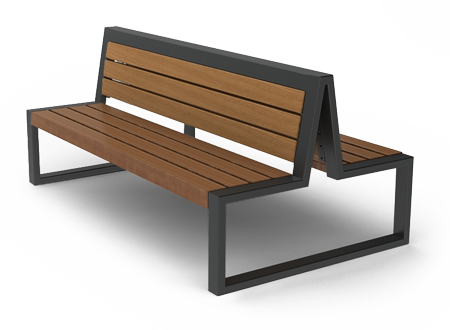 Скамейка уличная 3