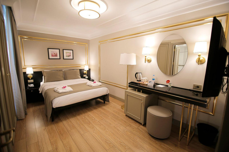 Modern and clean rooms