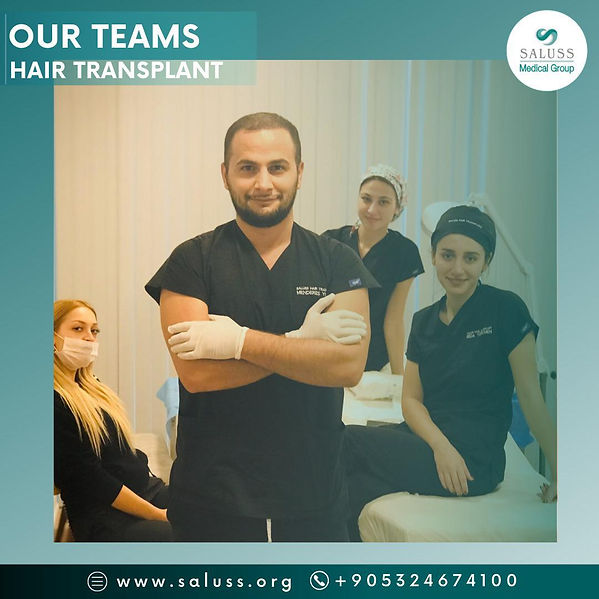 Saluss medical team