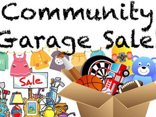 Lake Francis Area Garage Sale June 5, 2021