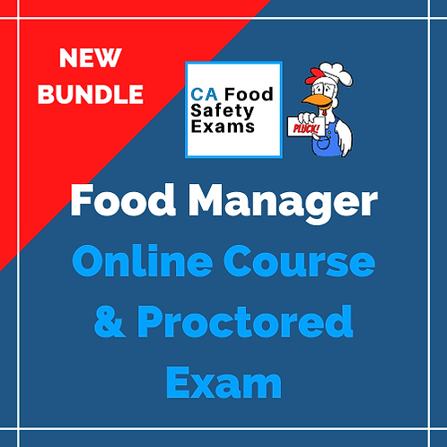 Food Manager Online Course & Exam Bundle