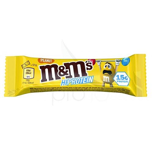 M&M'S HI-PROTEIN BAR PEANUT (51G)