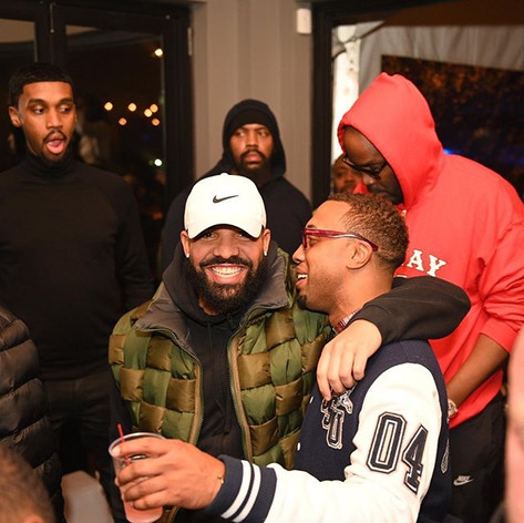 _champagnepapi showed the city love ..__