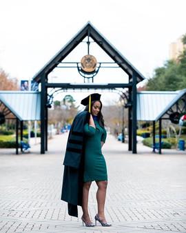 Congrats again Dr. _akilahnoelle on grad