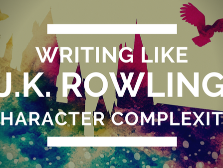 Writing Like J.K. Rowling: Character Complexity