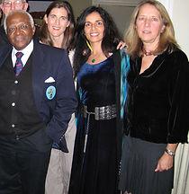 Desmond Tutu, Sousan Abadian, Donna Hicks