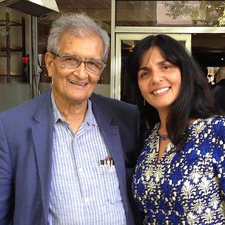 Amartya Sen, Sousan Abadian