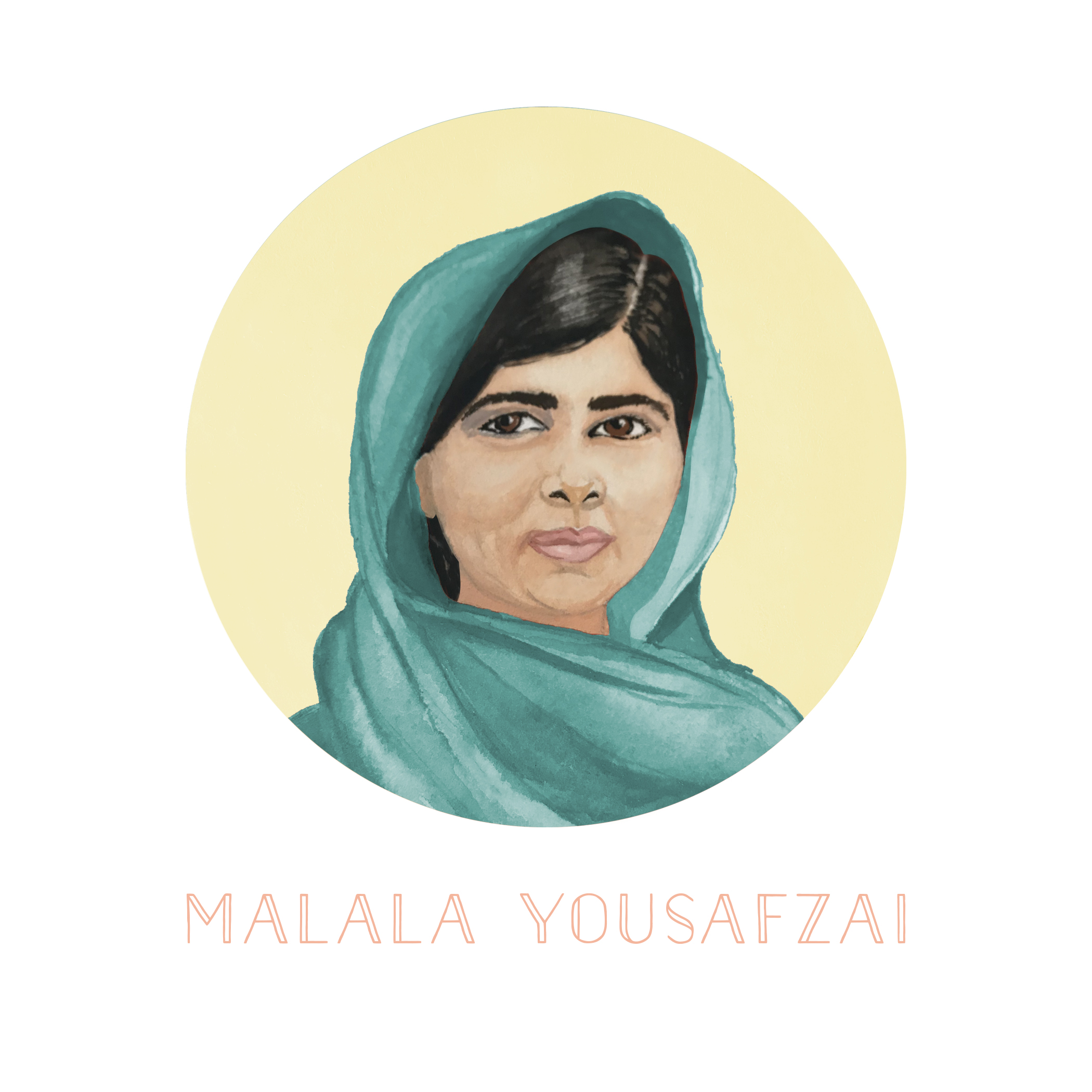 Portrait of Malala