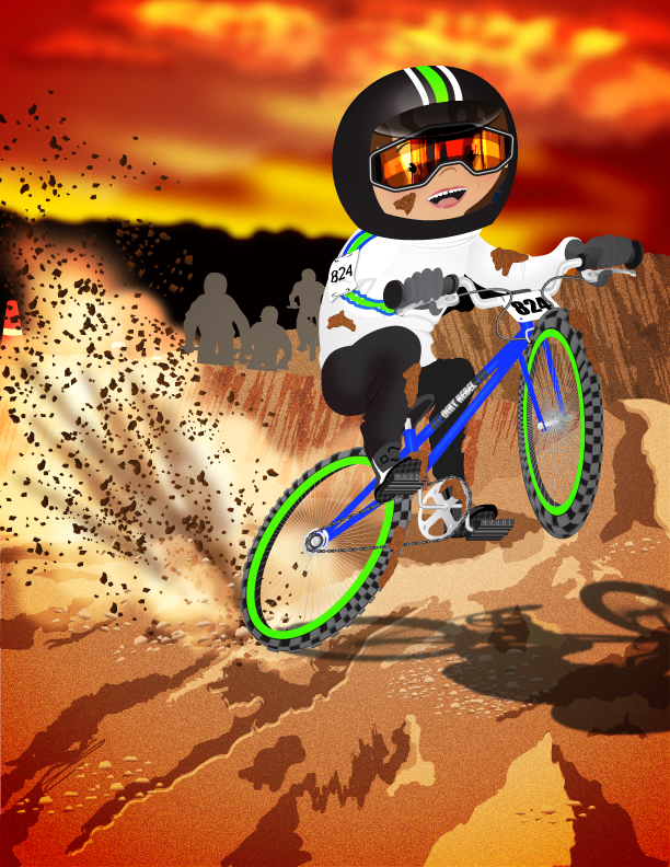 Adventure Girls! Dirt Biker