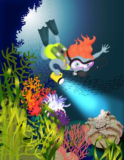Adventure Girls! Diver