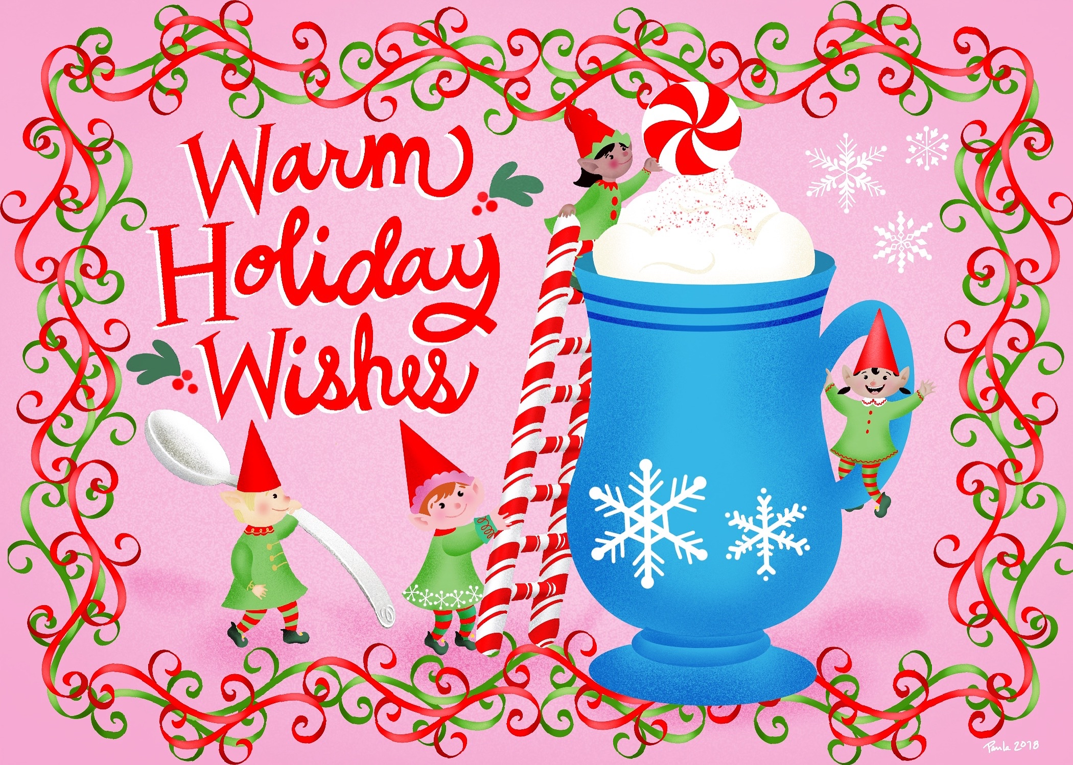 warm wishes elves