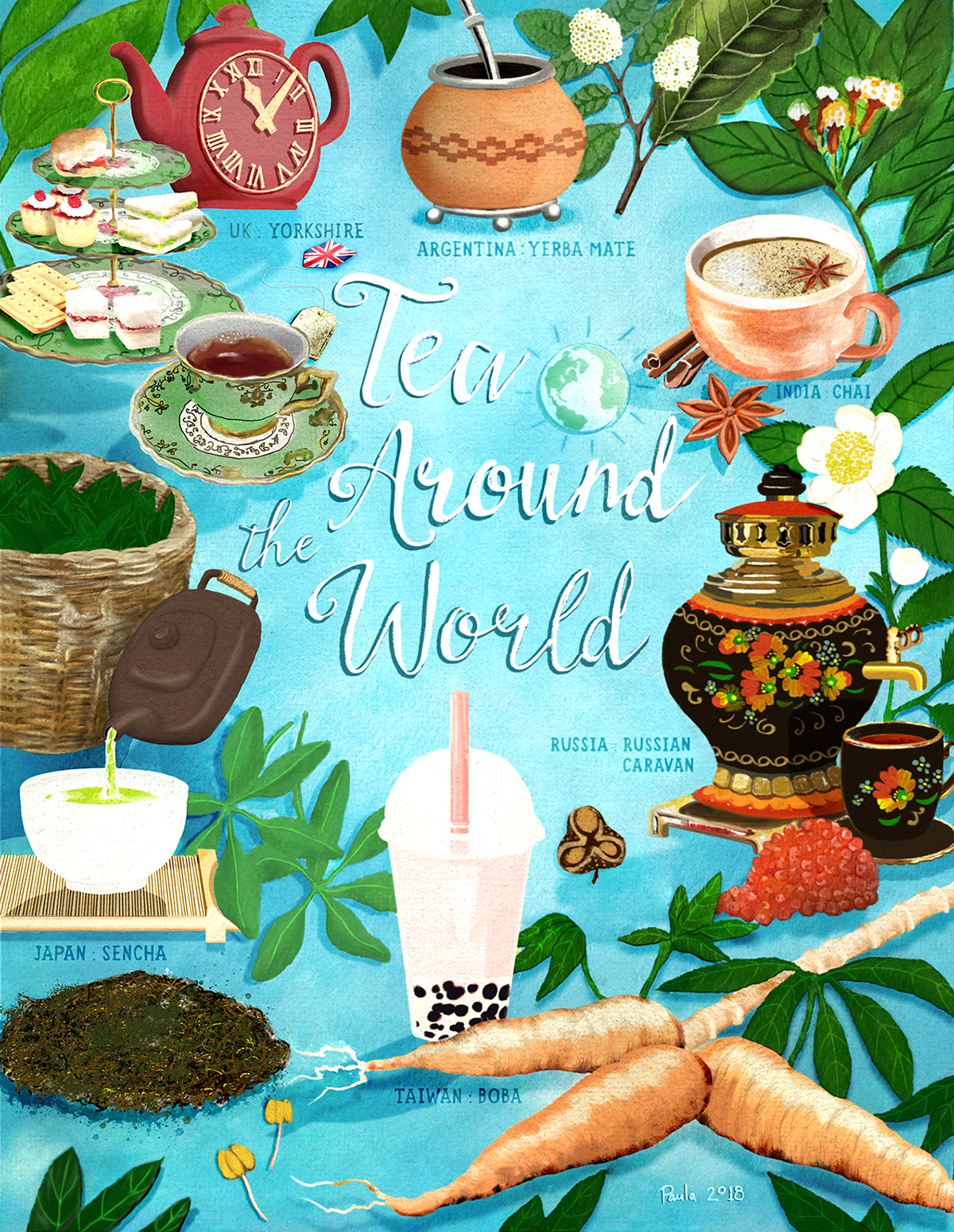 Tea Around the World