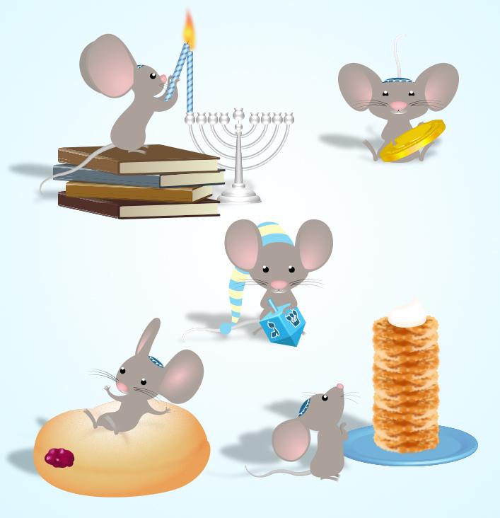 Hanukkah Mouse