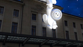 Day Star Fine Art team visits Geneva Lux festival
