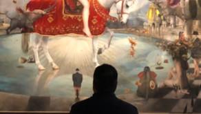 Day Star Fine Art visit the gallery, atelier of artist Quim Hereu