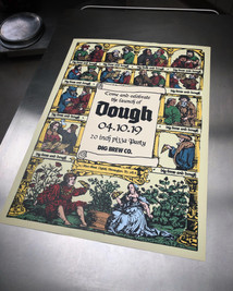 Dough Launch Party Poster