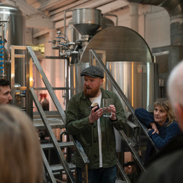 Dave on his Brewery Tours