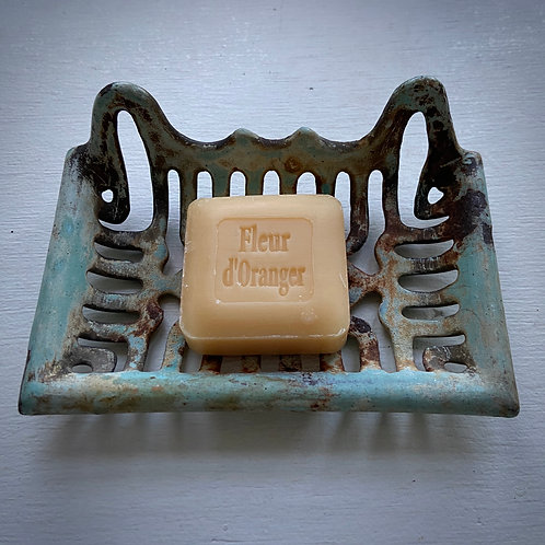 Authentic cast iron soap dish