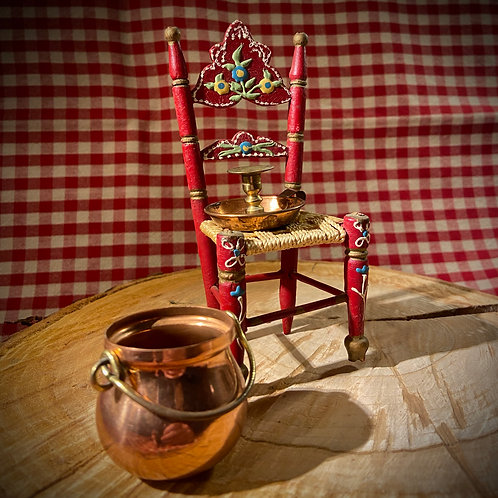Miniature traditional Normand chair