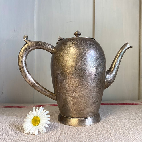 1930s silver plated coffee pot