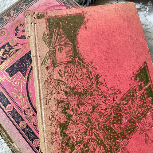 2 antique French books