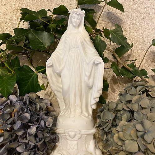 French bisque figurine of Virgin Mary