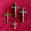 Thumbnail: French vintique crucifixes