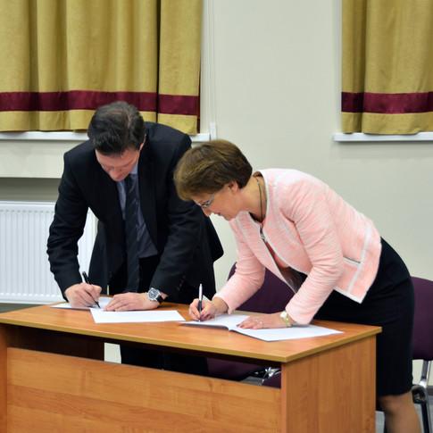 Константин Костюк и Галина Козырева