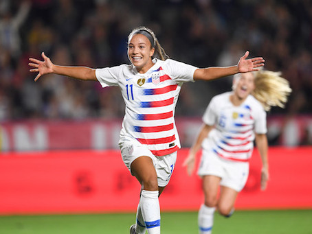 How does Mallory Pugh Stack Up Against Legendary USWNT Front Liners?