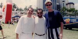 Richard Trinidad, Humberto Ramirez & Loran Cox | Miami Bayfront Park
