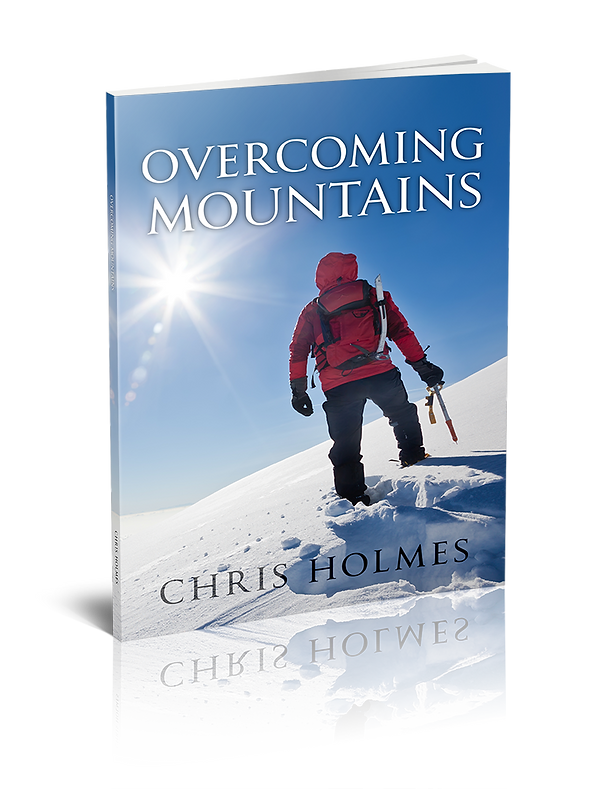 Photo of the book Overcoming Mountains