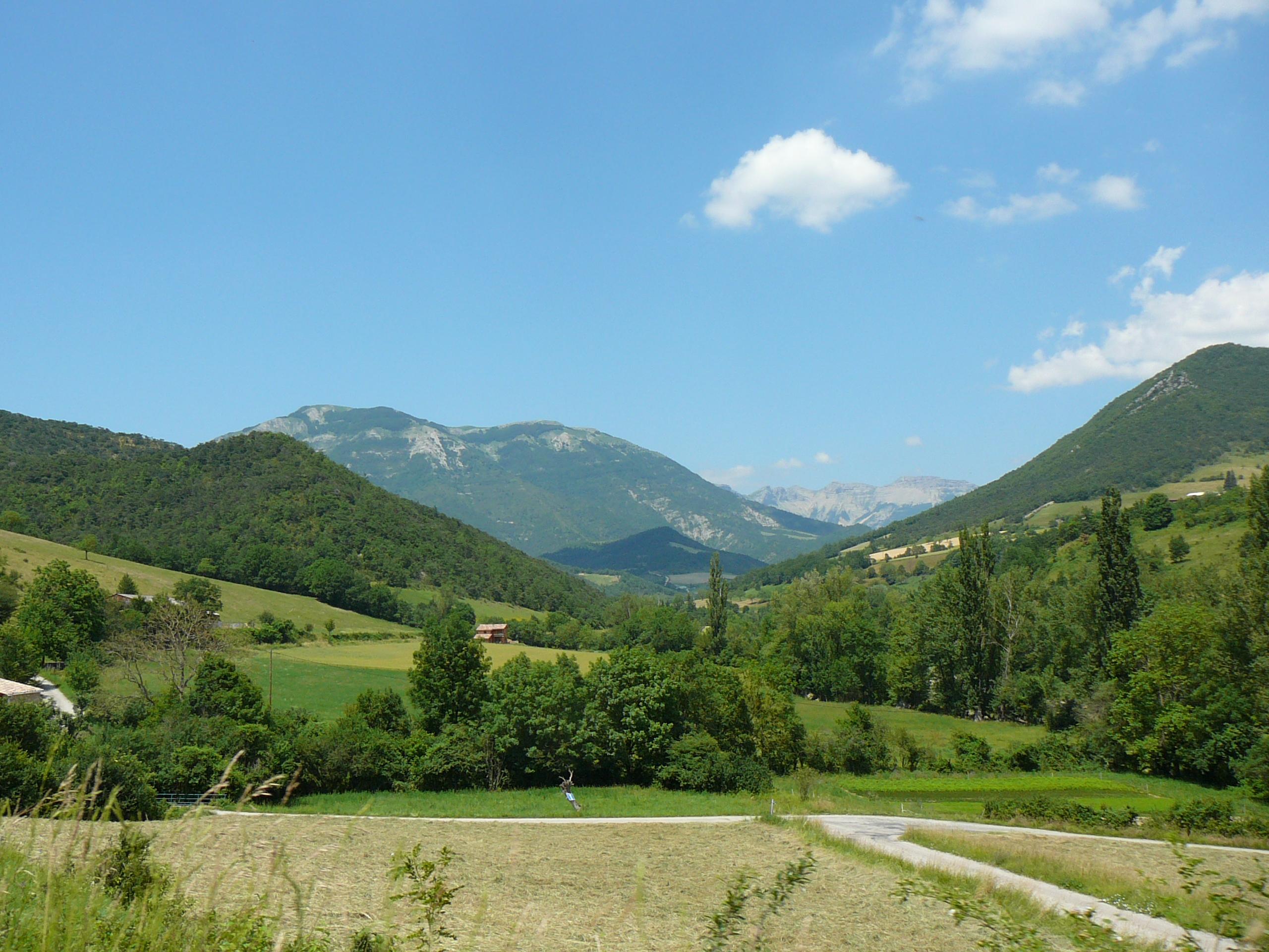 Les montagnes environnantes