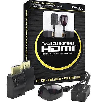 Transmissor e receptor de IR HDMI