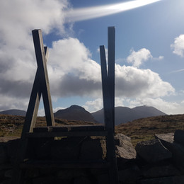 Another stile over the Mourne Wall - how many are there?