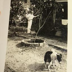 Rondo and Bob-Rare photo of Rondo Hatton