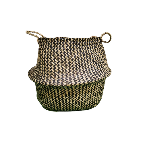 Woven Basket Pot Cover for 10 inch Pot