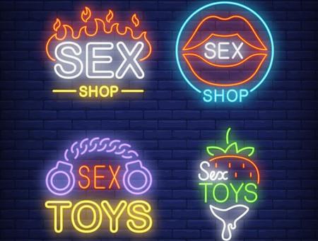 Sex shops y juguetes sexuales