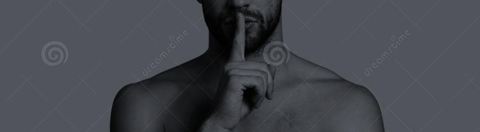 Shhh... stock photo. Image of ethnicity, male, care - 104928596