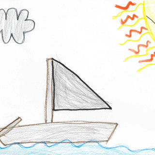 Old boat on a river by Toby, 9.jpg